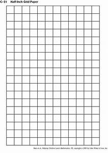 4 best images of inch printable grid graph paper With one inch graph paper template