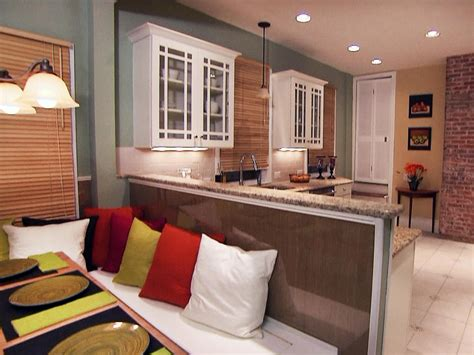 eat in kitchen designs how to build banquette seating how tos diy 7019