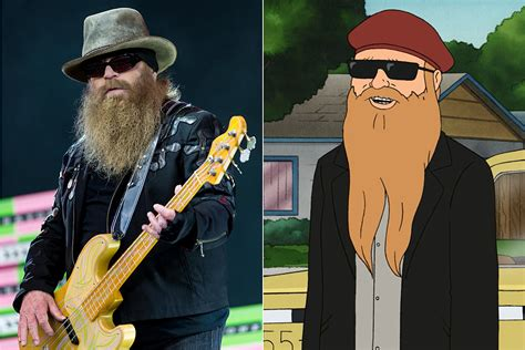 zz tops dusty hill joined  king   hill family