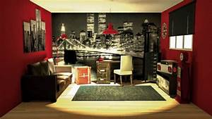 la deco chambre new york ado creative et amusante With chambre deco new york ado