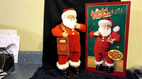 jingle bell rock santa in action youtube