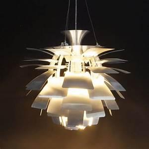 Suspension Grande Taille : lampe suspendue design 50x50x45cm trak maison et styles ~ Teatrodelosmanantiales.com Idées de Décoration