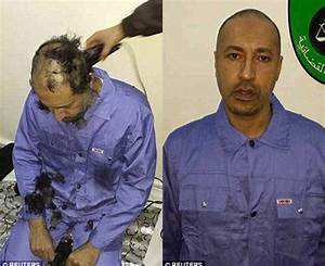 Leaked video emerges of Colonel Gaddafi's son Saadi 'being ...