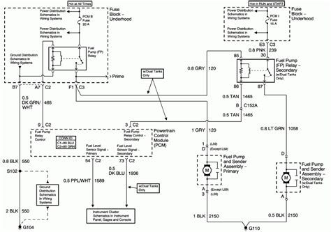 2003 Tahoe Wiring Diagram by 2003 Trailblazer Fuel Wiring Diagram Fuse Box And