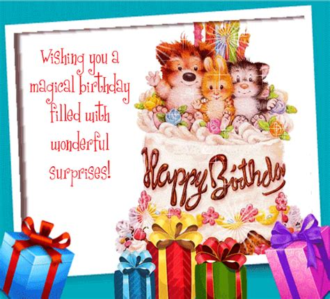 The 123greetings mobile app is set to revolutionize the entire process of sending ecards to your friends, family and loved ones. Wishing You A Magical Birthday. Free Birthday Wishes eCards   123 Greetings