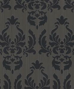 Tapete Barock Schwarz : tapete vlies rasch barock anthrazit schwarz metallic rasch 433036 ~ Yasmunasinghe.com Haus und Dekorationen