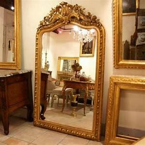 Miroir Doré Ancien : les 12 meilleures images du tableau miroirs ancien sur pinterest miroirs anciens miroirs et ~ Teatrodelosmanantiales.com Idées de Décoration