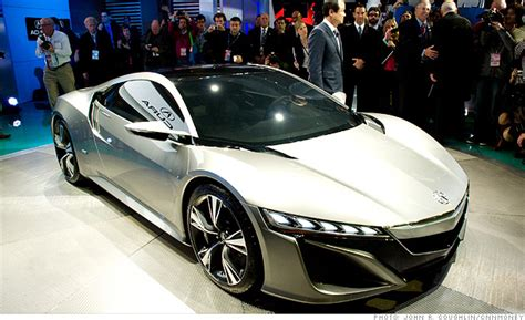 cool hybrid cars cool cars from the detroit auto show acura nsx 4