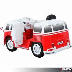 Voiture Electrique Enfant : voiture lectrique pour enfant vw combi 12 volts ~ Nature-et-papiers.com Idées de Décoration