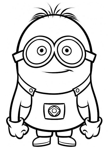 disegni da colorare minions pdf bob minions disegni da colorare per bambini da colorare