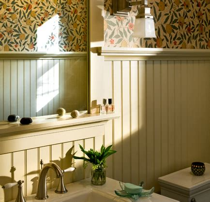 bathrooms with beadboard wainscoting beadboard in