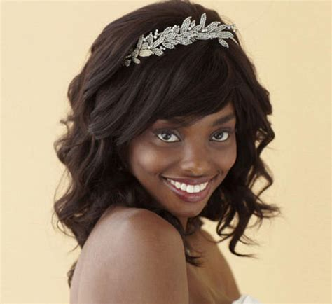 Black And Hairstyles For Hair by Black Bridal Hairstyles For Hair American