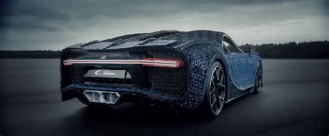 With lego® technic we like to state that you build for real. An Amazing Drivable 1:1 Life Size Bugatti Chiron Replica Made Entirely From LEGO Technology