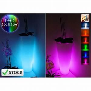 vase lumineux mundufr With spot eclairage arbre exterieur 8 pot lumineux ledinterieur et jardin deco lumineuse