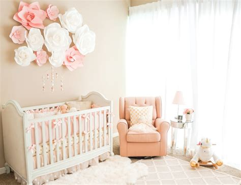 decorating  nursery baby girl edition