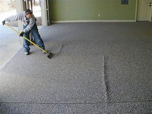 Cheap DIY Garage Flooring Ideas — Home Designs Garage