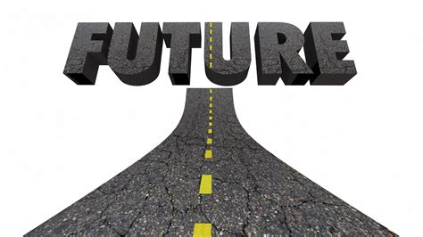 Road To The Future Progress Moving Forward Word 3 D ...