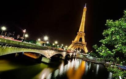 Eiffel Tower Paris Night Wallpapers Parijs Eiffeltoren