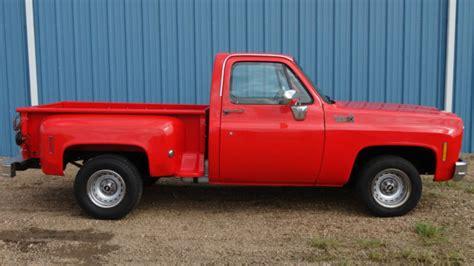 Chevrolet Chevy Not Gmc Stepside Shortbed Truck