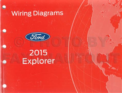 2015 Ford Explorer Wiring Diagram 2015 ford explorer repair shop manual on cd rom original