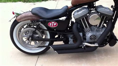 Harley Davidson Sportster Bobber Walk Around