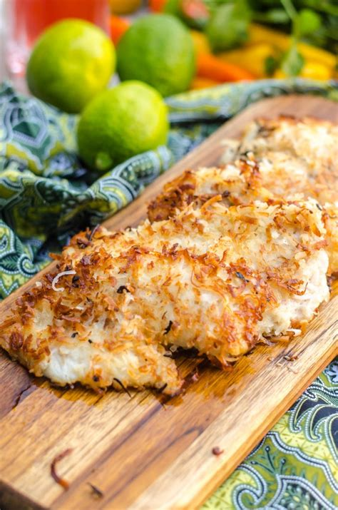 coconut fried fish coconut crusted fish recipe