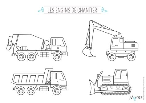 chambre a air camion coloriage camion momes