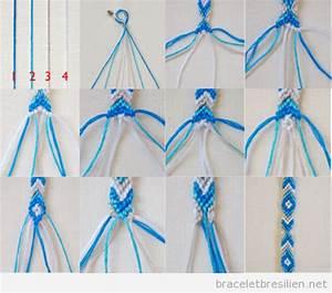 Fabriquer Un String : d butant bracelets br siliens tutoriel pas pas pour ~ Zukunftsfamilie.com Idées de Décoration