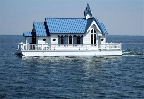 Houseboat Ocean by Famous Houseboat For Sale Was 1 Of 2 Floating Chapels
