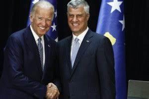 "Joe Biden received warmly in Kosovo, calls for ""advancing ..."