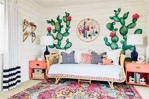 Décoration Murale Chambre Fille : d co cactus une tendance sympa pour nos maisons design feria ~ Teatrodelosmanantiales.com Idées de Décoration
