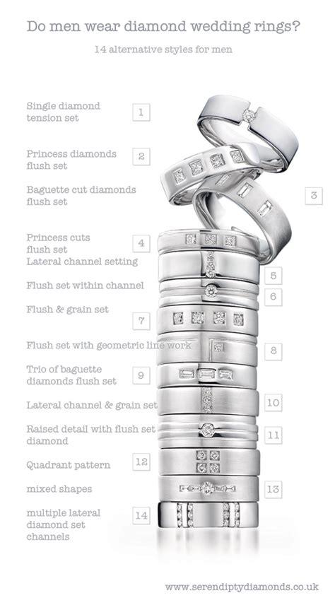 men wear diamond wedding rings  guys wear diamond rings