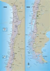 Large detailed travel map of Chile. Chile large detailed travel map ... Chile