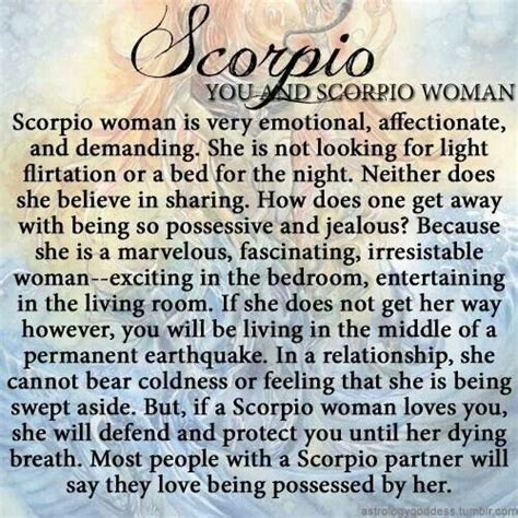 quotes about scorpio woman quotesgram