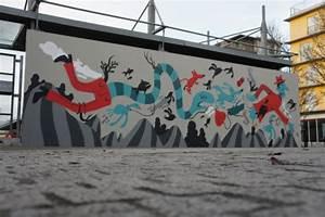 Street Art Bordeaux : le m u r un espace d 39 exposition street art en plein air ~ Farleysfitness.com Idées de Décoration