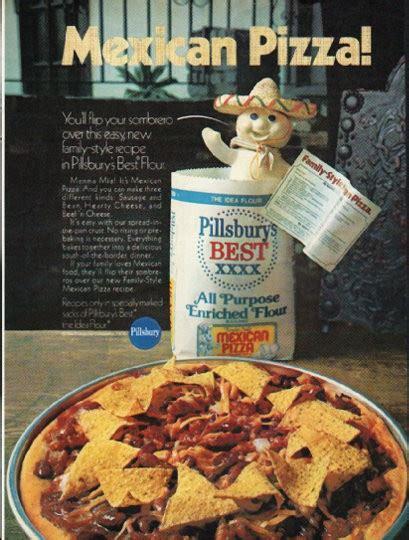 pillsbury vintage ad mexican pizza