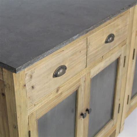 meuble cuisine en bois cuisine evier porcelaine en pin recyclé bois achat