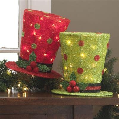 raz imports  lighted top hat set   sold