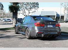 BMW F80 F82 F83 M3 M4 DTM Carbon Fiber Rear Diffuser