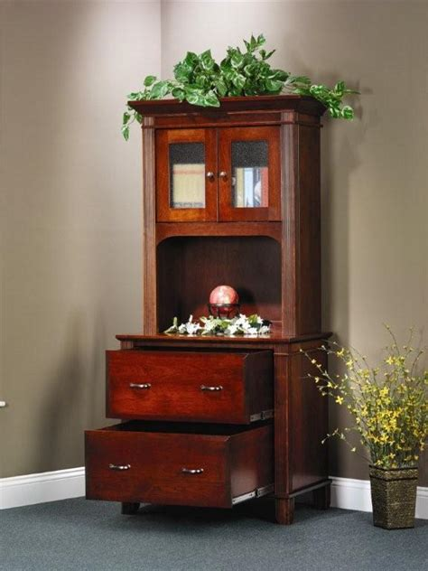 arlington executive lateral file cabinet  open hutch