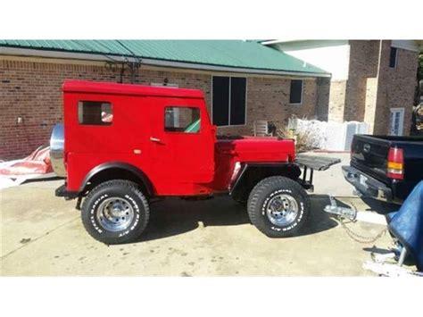 willys jeep  sale  classiccarscom