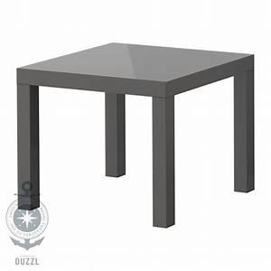 Couchtisch Grau Hochglanz : ikea lack beistelltisch hochglanz grau couchtisch mit 55x55cm tisch neu style ebay ~ Indierocktalk.com Haus und Dekorationen