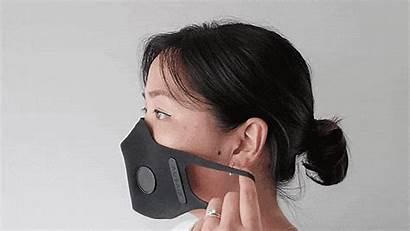 Mask Face Masks Kickstarter Gen Smoke Pollution