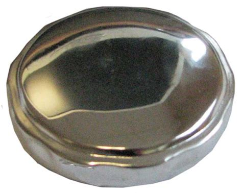 ford tractor fuel cap chrome