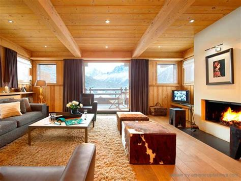 desain rumah minimalis modern berbahan kayu  musim dingin