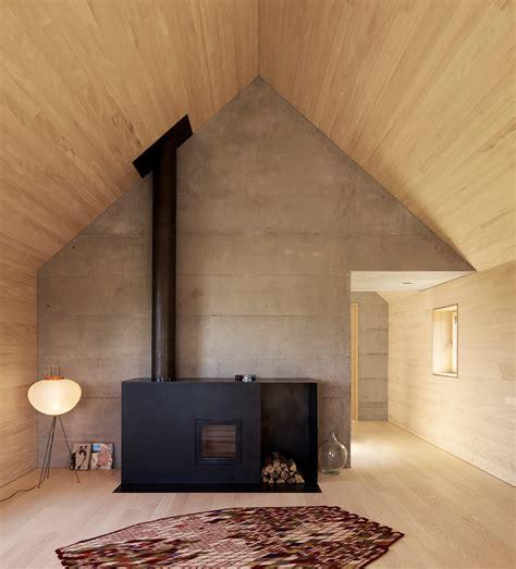 wood panel walls  modern nonagon