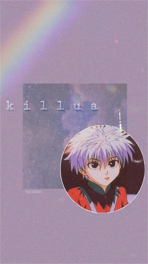 aesthetic killua zoldyk edit 1999 anime wallpaper