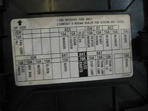 350z Interior Fuse Box Diagram