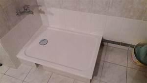 Pose Receveur Extra Plat Sur Dalle Beton : receveur de douche rectangulaire x cm r sine ~ Melissatoandfro.com Idées de Décoration