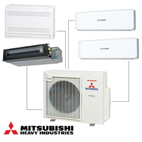 Mitsubishi Split System Ac by Multi Split System Mitsubishi Heavy Industries Scm71zm S